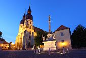 stock photo of mikulas  - Saint Nicolas church in Trnava Slovakia  - JPG