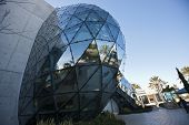 ST. PETERSBURG, FLORIDA - JANUARY 31: Exterior of Salvador Dali Museum January 31, 2013 in St. Peter