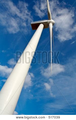 Detail Of Wind Turbine
