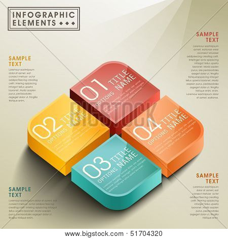 Vector Abstract 3D Box Infographics