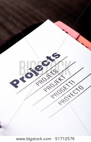 Projects Organizer