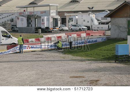 Wrc Championship Preparation In Strasbourg