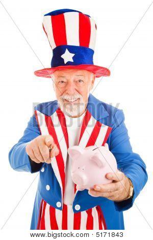 Uncle Sam Wants Your Cash