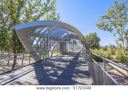Famous Arganzuela Bridge