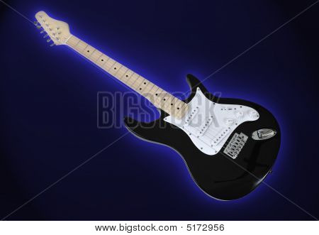 Guitar-black