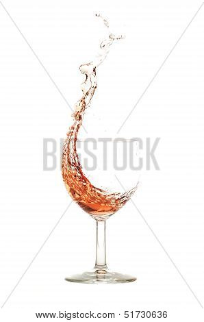 Ros� Wine Splash