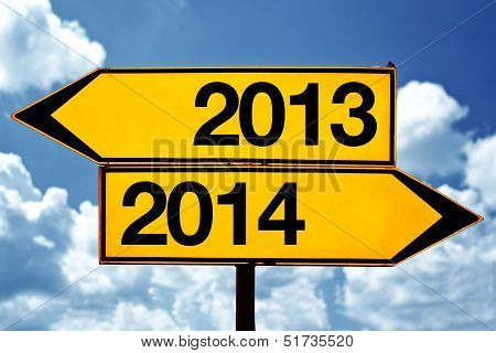 2013 Or 2014, Opposite Signs