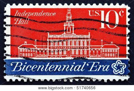 Postage Stamp Usa 1974 Independence Hall