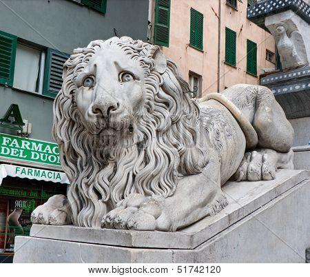 The Sad Lion