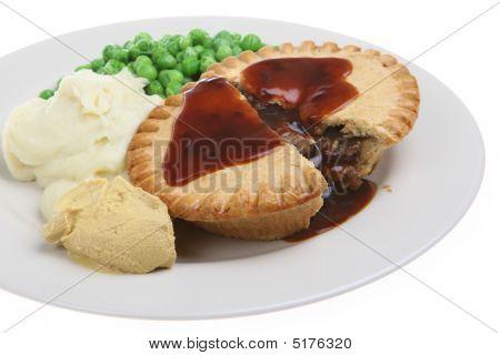 Steak Pie & Mash