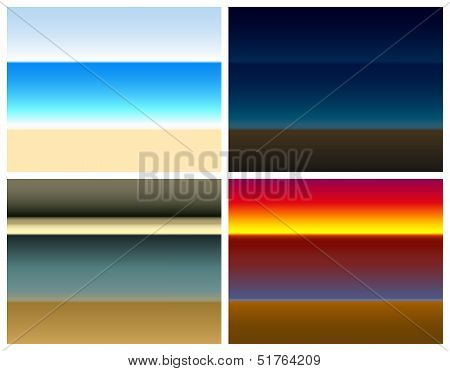 Seaside Color Gradient