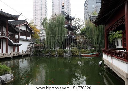 Wen Miao Temple In Shanghai