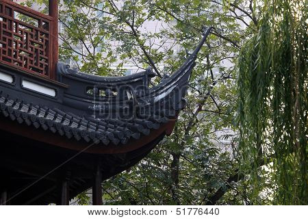 Chinese Roof Detail