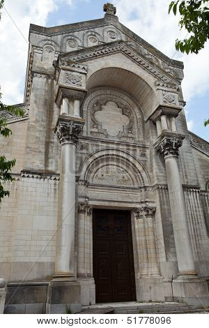 the Basilica of Saint-Martin Tours. Loire Valley,  France