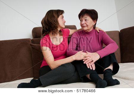 Depression - daughter regrets senior mother