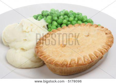 Steak Pie And Mash