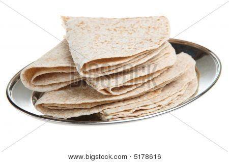 Indian Chapati Breads