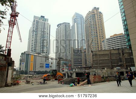 Chinese Construction Site