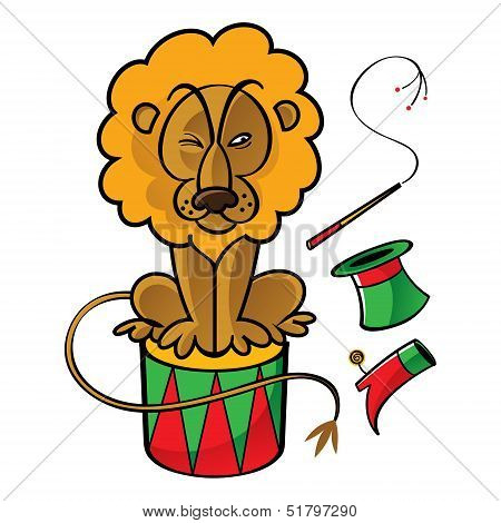Circus Lion