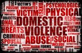 stock photo of domestic violence  - Domestic Violence Abuse in Many Forms Background - JPG