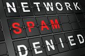 image of spam  - Security concept - JPG
