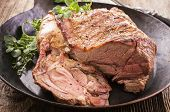 pic of lamb  - lamb roast - JPG