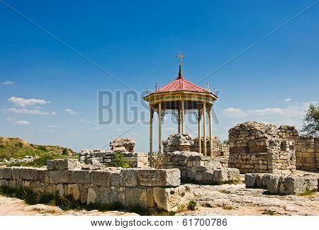 Chersonesus Near Sevastopol In Crimea