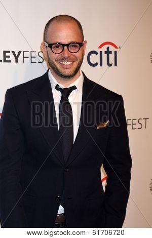 LOS ANGELES - MAR 16:  Damon Lindelof at the PaleyFEST -