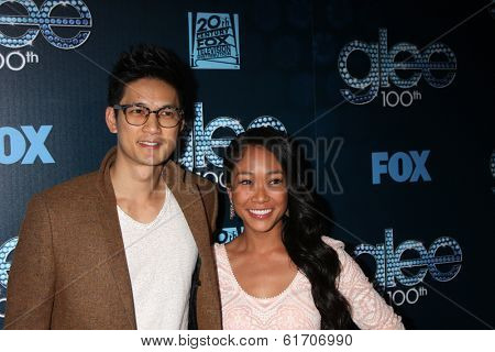 LOS ANGELES - MAR 18:  Harry Shum Jr at the GLEE 100th Episode Party at Chateau Marmont on March 18, 2014 in West Hollywood, CA