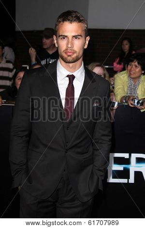 LOS ANGELES - MAR 18:  Theo James at the