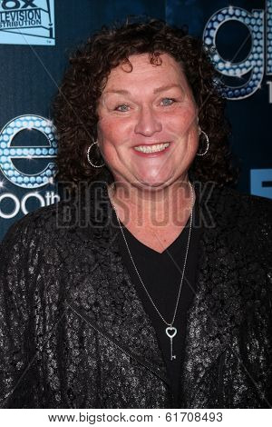 LOS ANGELES - MAR 18:  Dot Marie Jones at the GLEE 100th Episode Party at Chateau Marmont on March 18, 2014 in West Hollywood, CA