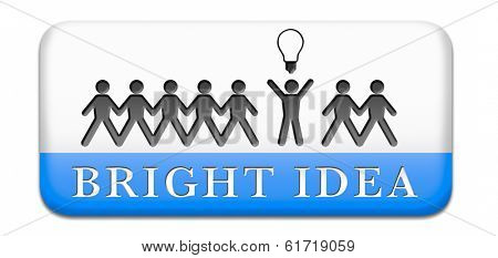 bright ideas brilliant great idea new innovation or invention eureka creative solution or discovery paper man silhouette