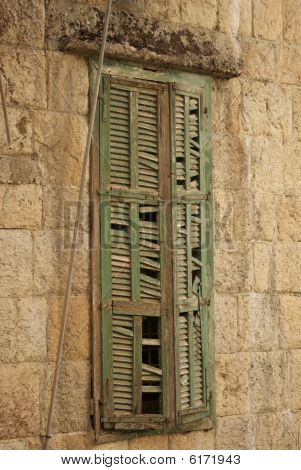 Leftover Window From the Lebanese War