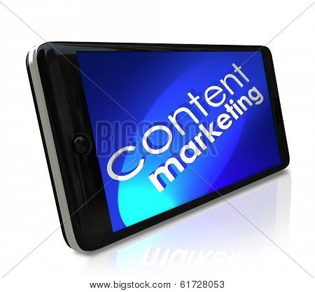 Content Marketing Phone Customer Outreach Business Communication