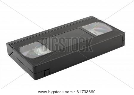 Vhs Tapes On White