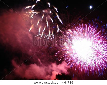 4th Of July Fireworks Celebration In USA