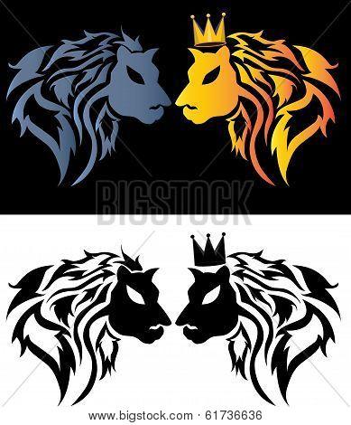Stolen Lion Tribal predators