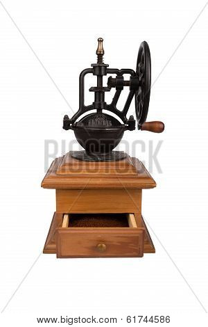 Coffee Mill, Isolated On White