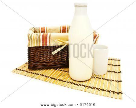 Basket And Milk
