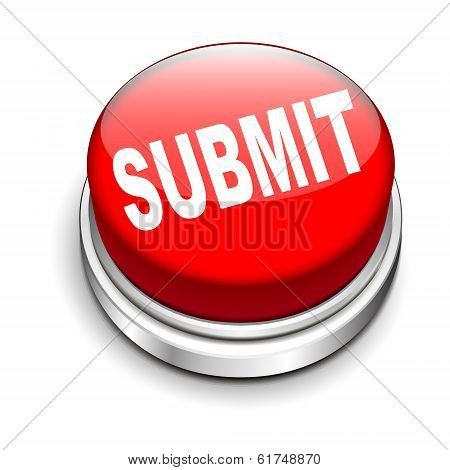 3D Illustration Of Submit Button