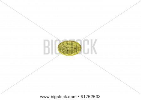 Single Gold Bitcoin