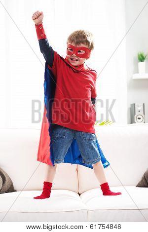 Superhero Boy