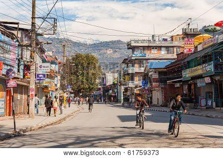 National Strike In Nepal, Pokhara