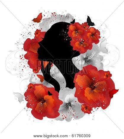 Floral Woman