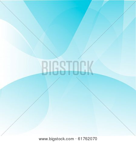 White And Lite Blue Abstract Background