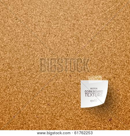 Vector Corkboard Texture