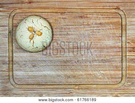 homemade fresh tahini cookie