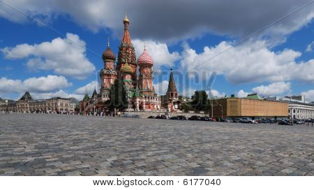 St. Basil's Cathedral. (Panoramic View)