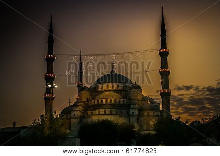 Aya Sophia at night