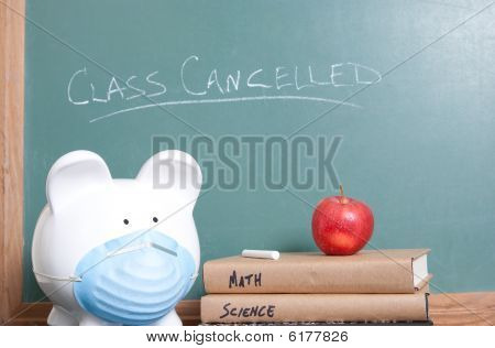Class Cancelled For Swine Flu